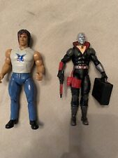 GI Joe Classified Destro & Vintage Rambo Action Figures