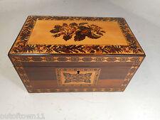 Antique Rosewood Tunbridge Ware  Box   ref 1184