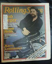 Bob Seeger Levon Helm Rolling Stone Newspaper magazine #316 1980