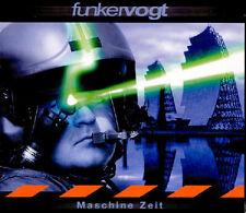 FUNKER VOGT Maschine Zeit CD Digipack 2003 + 2 Bonustracks