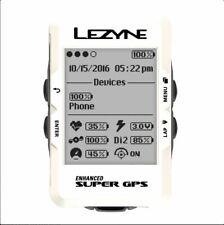 Lezyne Super GPS Bike Navigation and Cycle Computer device NEW