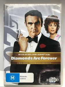 Diamonds are Forever - 007 - DVD - AusPost with Tracking - Movie DVD Only