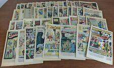 Lot Of 45 Bronze Age Coverless Comics Superman, Dracula , Batman, Teen Titan
