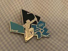 Very Rare London 2012 Olympics Pin Badge Barnet Boroughs Set Archer Statue