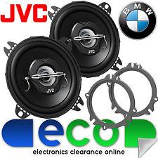 BMW 5 Series E60 E61 JVC 10cm 420 Watts 2 Way Front Door Car Speakers & Brackets