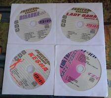 4 CDG DISCS KARAOKE TEEN HITS OF KE$HA,LADY GAGA,RIHANNA,KATY PERRY  CD+G
