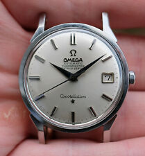 1964 Vintage Automatic Omega Dome Dial Dogleg Constellation Ref 168.005