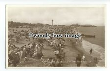 tq1631 - Norfolk - Crowded South Beach from the Jetty, Gt.Yarmouth - Postcard
