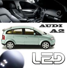 AUDI A2  Pack 7 Ampoules LED Canbus Blanc éclairage Habitacle plafonnier coffre
