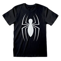 Marvel Comics Spider-Man Classic Logo Men's T-Shirt | Official Merchandise