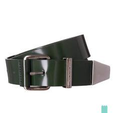 RRP €195 DIESEL BLACK GOLD Size 90 / 36 BEATRIX Patent 100% Leather Belt