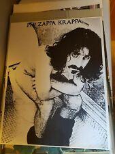 PHI ZAPPA KRAPPA 1969 FRANK ZAPPA VINTAGE NOS TOILET POSTER -NICE!