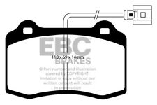 EBC Ultimax Front Brake Pads Seat Ibiza Mk2 6K 1.8 Turbo-R Cupra 180HP 2000 > 02