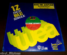 "PHILIPPINES:ALPHAVILLE - Big In Japan, 12"" EP/LP,New Wave"