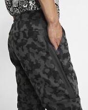Nike Sportswear TECH FLEECE Mens Joggers Pants BLACK CAMO CJ5981-010   ALL SIZES