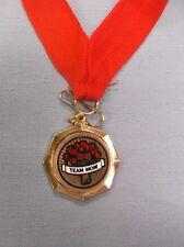 team mom medal roses insert red neck drape