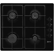 NEFF T26BR46S0 Built In 58cm 4 Burners Gas Hob Black New from AO