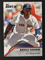 2016 Topps Bunt #21 Hanley Ramirez - NM-MT