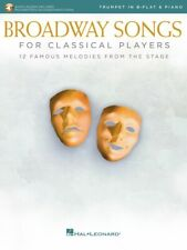 Broadway Songs for Classical Players Trumpet and Piano With Audio 000265894