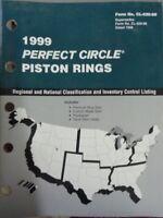 1999 Perfect Circle Piston Rings Parts Manual