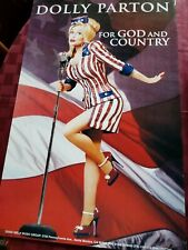 DOLLY PARTON FOR GOD AND COUNTRY POSTER