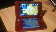 Nintendo New 3DS XL Launch Edition Red Handheld System