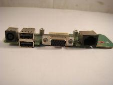 DELL INSPIRON 1545 GENUINE POWER JACK ETHERNET VGA USB PORTS BOARD  -1189