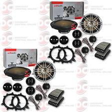 "4 x POLK AUDIO DB6501 6.5"" 6-1/2"" CAR BOAT MARINE AUDIO 2-WAY COMPONENT SPEAKERS"