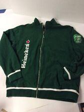 Heineken UEFA Champions League Jacket XXL Green Sponsor EUC