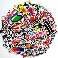 100Pcs Jdm Stickers Pack Car Motorcycle Racing Motocross Helmet Vinyl Decals Lot