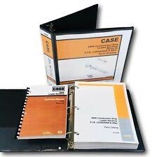 Case 580k Phase Iii Tractor Loader Backhoe Parts Catalog Operators Manual 3 Book