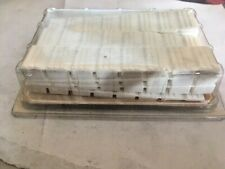 10 CUNEI BIANCHI mm 20x100 IN PLASTICA PER MOBILI 7 SEGMENTI DI ROTTURA
