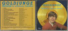 "HEINTJE ""Goldjunge"" Heintje´s schönste Lieder - Germany CD Cosmus"