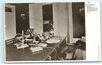 *President's Room White House Washington DC Old Vintage Postcard B65