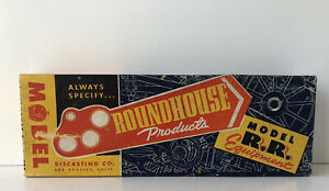HO Roundhouse 40' A.T. S. F. Open Gondola Freight Car Kit, NOS Vintage