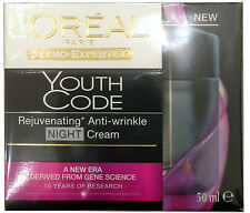 Loreal Paris Youth Code Rejuvenating Anti-Wrinkle Night Cream 50ml