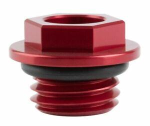 Tusk Oil Filler Plug Fill Cap RED HONDA HONDA CR125R CR250R CRF250R CRF450R