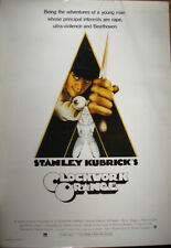 CLOCKWORK ORANGE Movie POSTER (1971)