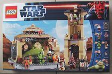 Lego Star Wars 9516 Jabba's Palace Nuevo & OVP