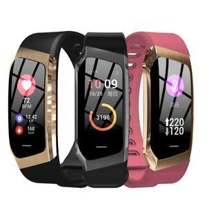Smart Band Heart Rate Monitor Touch Screen Bracelet Waterproof Blood Pressure Us