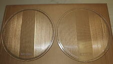 2 grands verres de phares MONOGRAM AT25FT, 11 1/2 x 10 27. Américaines années 20