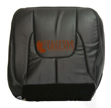 03 Dodge Ram 2500 Laramie Passenger Bottom Leather Seat Cover Dark Gray Pattern