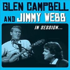 In Session by Glen Campbell/Jimmy Webb (Songwriter/Producer) (CD, Aug-2012, 2 Discs, Fantasy)