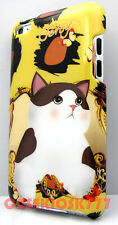 for iPod touch 4th 4 th 4gen itouch butterfly kitten cat kitty brown hard case