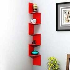Zigzag shelf,Corner WallShelf Floating Wall Shelf Zigzag Wall Mount She Hanging