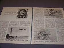 VINTAGE..LOUIS ISIDORE AUGUSTA MARIE PAULHAN..PHOTOS/HISTORY ..RARE! (933M)