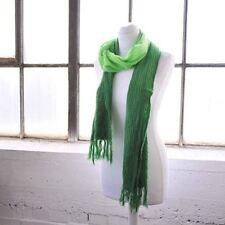 Sciarpa da donna in poliestere verde