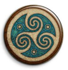 Culture celtique triskele druide magie - Badge Epingle 38mm Button Pin