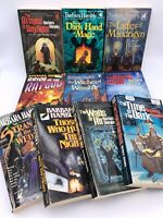 Lot of 10 Barbara Hambly Science Fiction Fantasy Vtg Books Witches of Wenshar