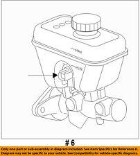 CHRYSLER OEM-Brake Master Cylinder 68207364AA